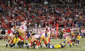 Rams give 49ers the boot in OT