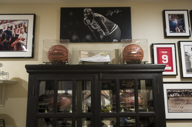 Decorating With Sports Memorabilia Lifestyles
