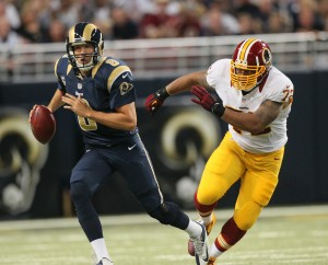 Rams overcame many obstacles to beat 'Skins