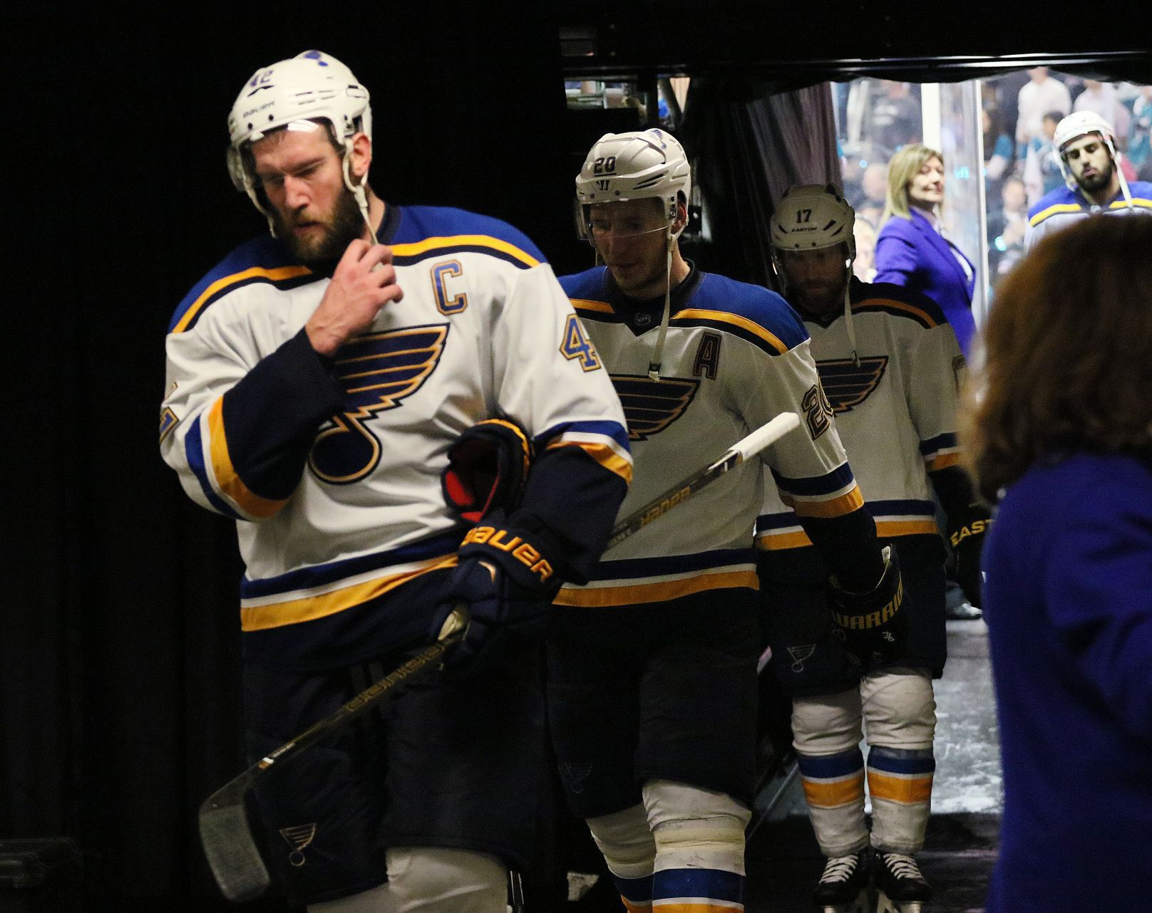 Blues' Banner Season Ends On A Flat Note