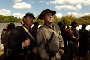 Battle of Pilot Knob, Civil War re-enactment