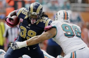 Rams fall to Dolphins 17-14