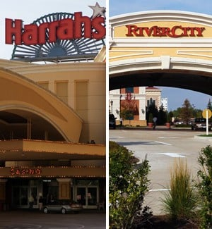 Harrah's Casino and River City Casino combo