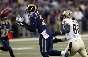 Rams upend Saints 27-16
