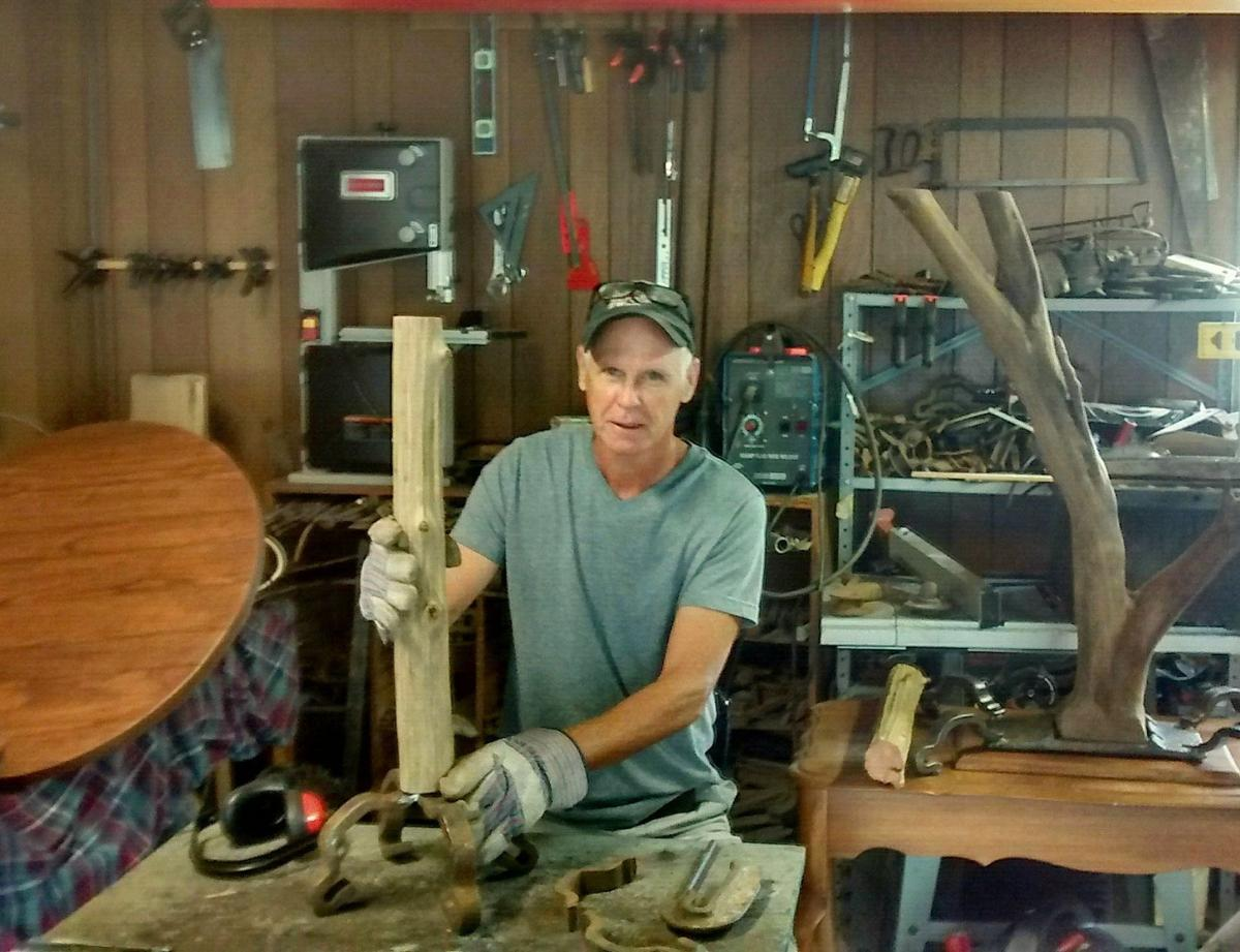 Made in St Louis Artist creates driftwood furniture and