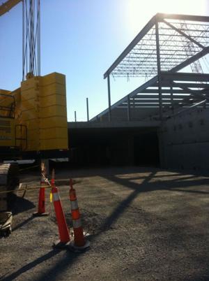 Ikea store construction proceeding rapidly