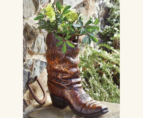 High & Low: Garden boot planter | Home and Garden | stltoday.com