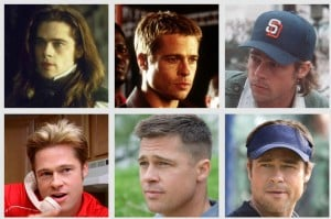 Can you match Brad Pitt to his movie posters?