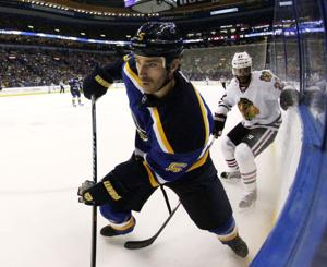 Jackman leaves Blues, signs with Nashville