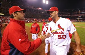 Wainwright wins NL pitcher of the month award