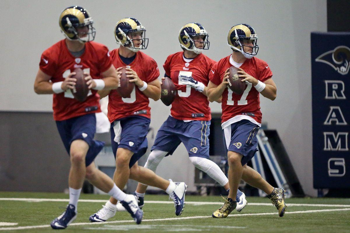 foles already vocal leader for rams nfl stltoday com rams organized team activities