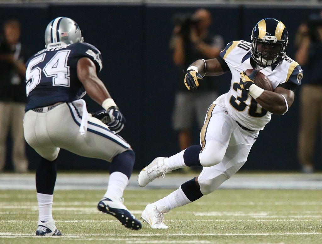 Stacy wants out after Rams pick Gurley
