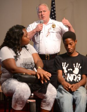 Ferguson police chief sees need for more officer training