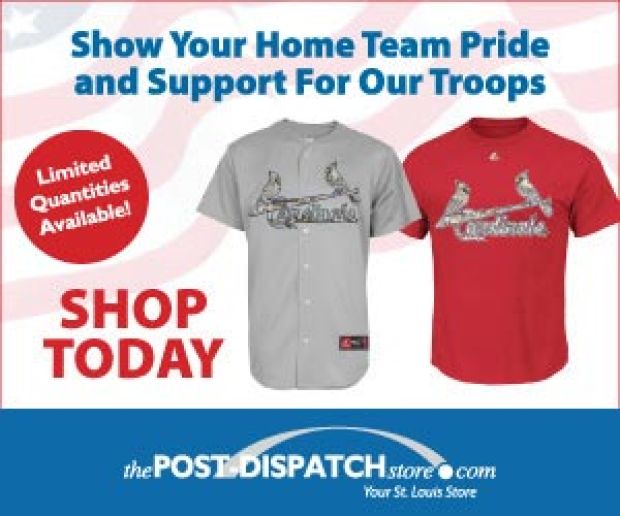 Purchase your limited edition Cardinals camo jersey from the P-D Store today!