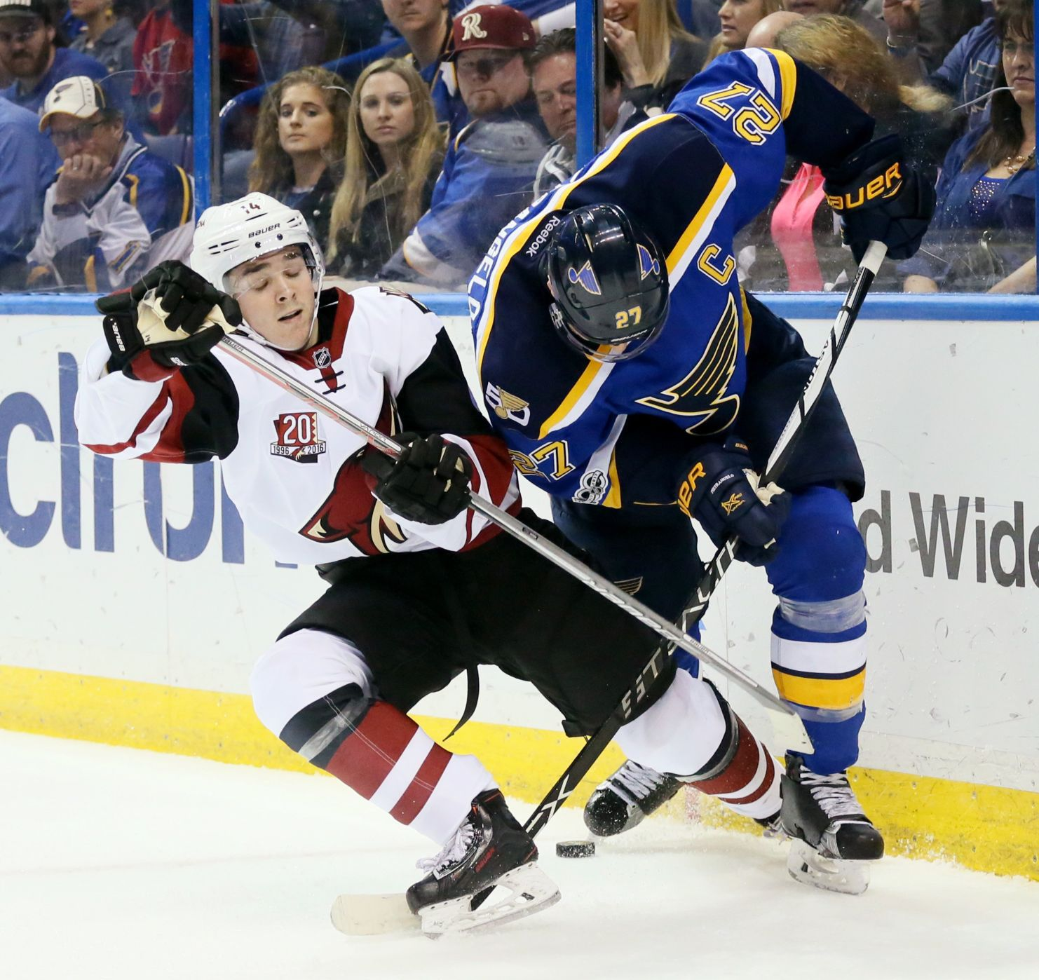 Bad Habits Concern Blues As Playoffs Approach