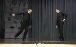Tap dancing priests rising to Internet fame
