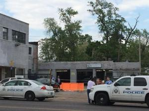 Man found shot to death on lot of St. Louis auto repair shop