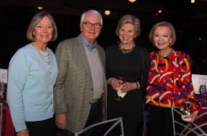 From left: Carol Voss, Tom Voss, Marsha Rusnack and Donna Wilkinson