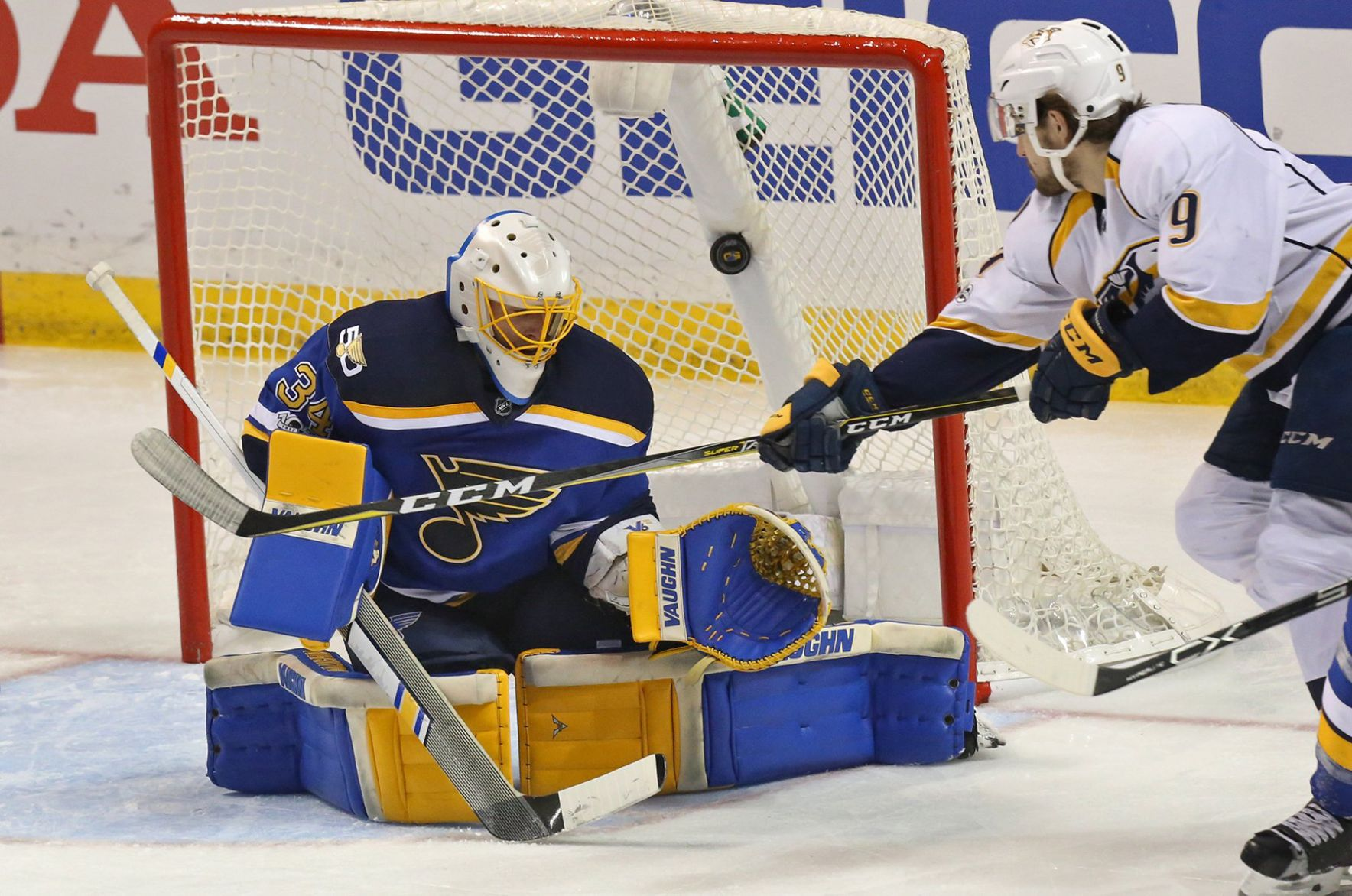 Allen Takes Blame For Game 1 Loss, But Second Period Doomed Blues