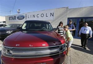U.S. auto sales expected to drop in August