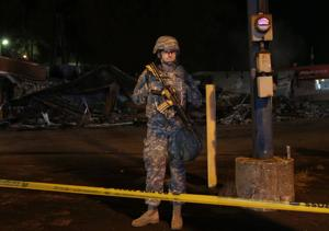 Ferguson update: Less violence but continued anger