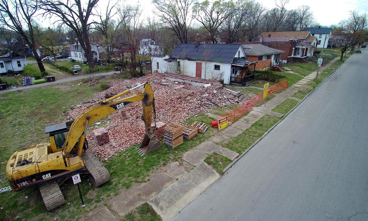 Msd city launch program to tear down old houses for green for 0 down homes