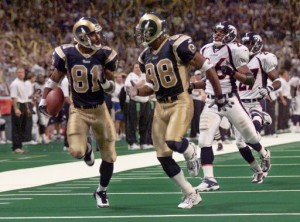 Last dance at the Dome with Rams 'Legends' game