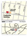 Cinderella Building locator map