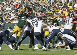 Dialing long distance doesn't work against Green Bay