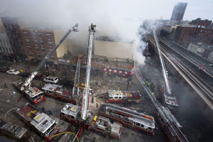 NYC building explodes and collapses, killing 1 and injuring 15