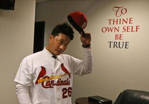 Cardinals not concerned as Oh nears work visa approval