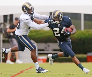 Pead back with Rams after sitting out opener