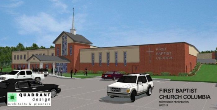 Impact Strategies is building a new First Baptist Church ...