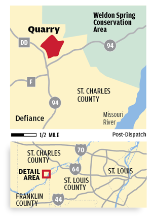 Residents near Defiance Quarry complain to new operator about vibrations, noise