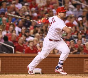 Holliday calls his on-base milestone 'cool'