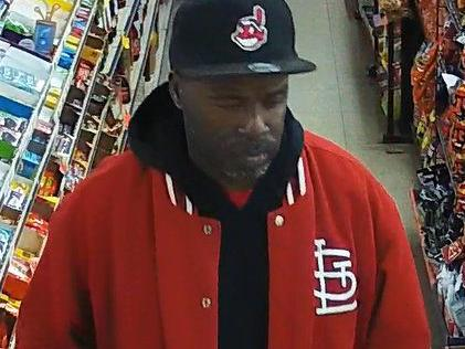 Surveillance images show suspect in Kirkwood robbery