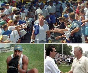 Top 10 memorable moments from St. Louis Rams camp