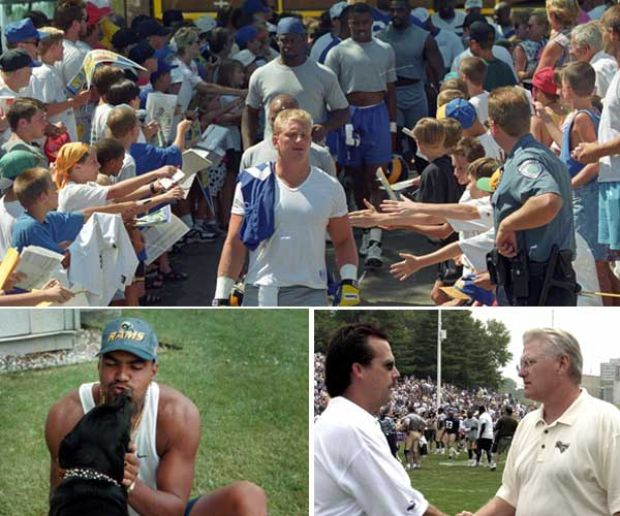 Top 10 memorable moments from Rams camp