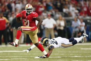 49ers manhandle Rams 35-11