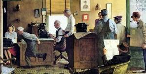 Rockwell painting to be sold to benefit National Press Club
