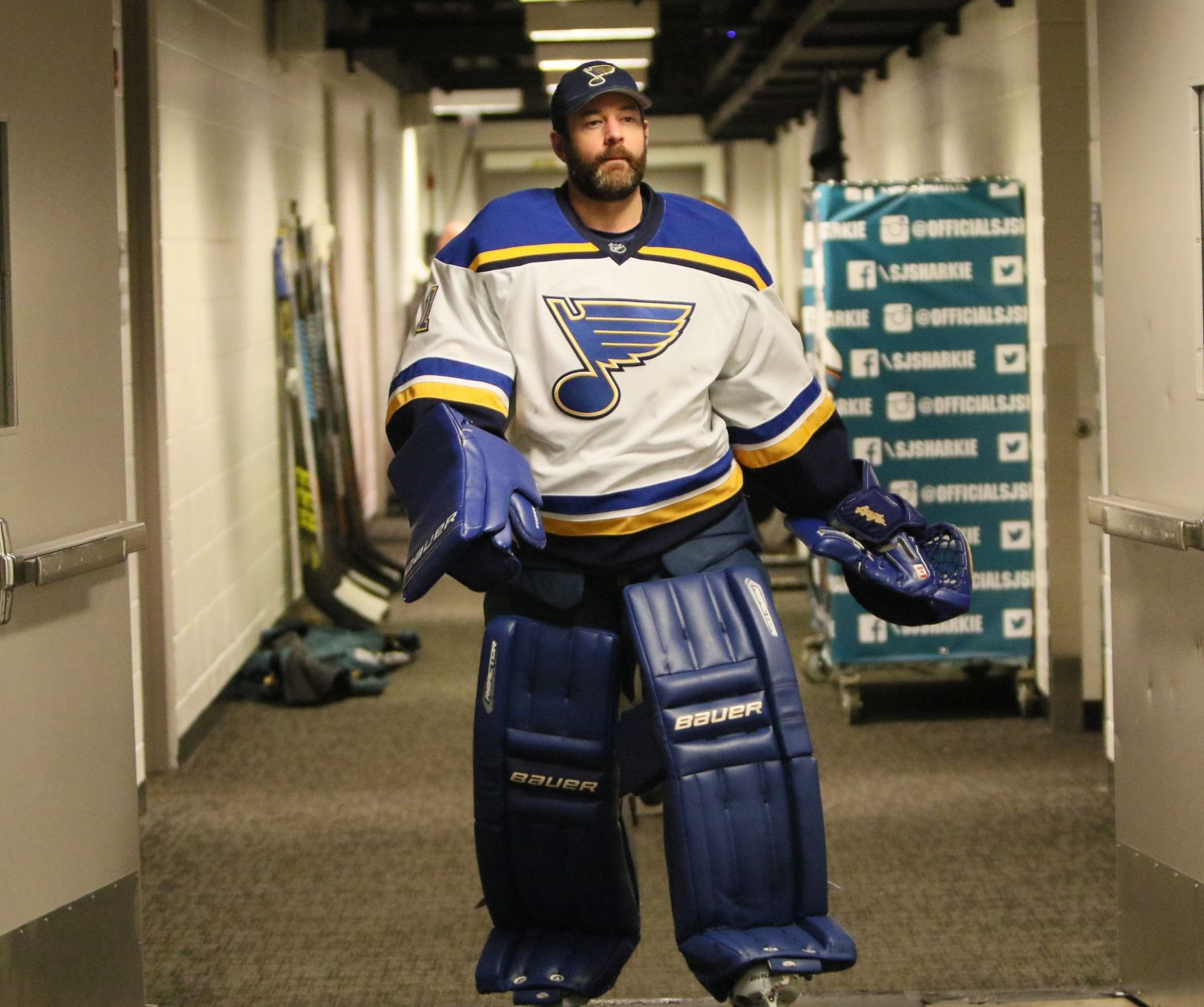 Blues likely to stick with same two-goalie approach