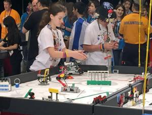 World robotics competition draws adolescent inventors