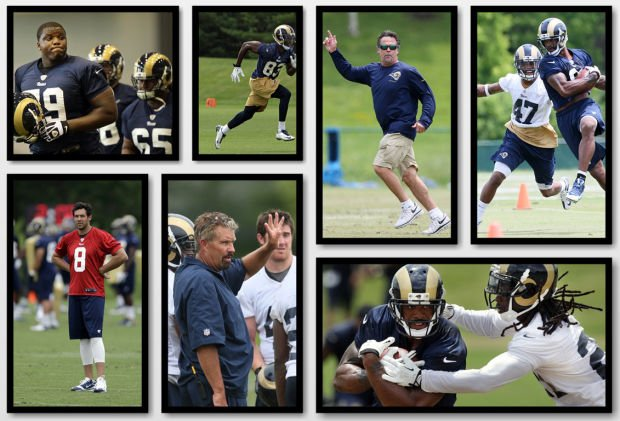 10 questions as Rams open camp