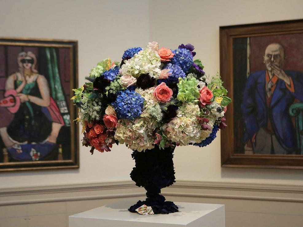 The outdoors come inside for 'Art in Bloom' at St. Louis Art Museum