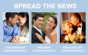 Announce the happy news!