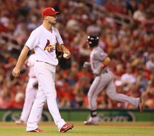 Cards fall to Nats in series finale