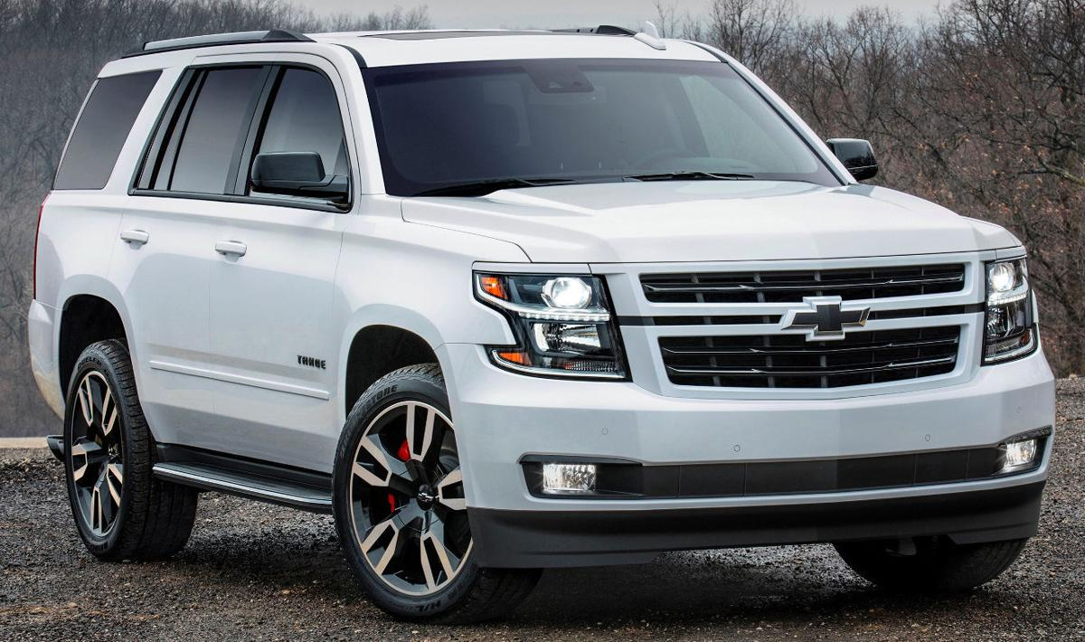 2018 chevrolet tahoe and chevrolet suburban rst a street performance look and in tahoe a real. Black Bedroom Furniture Sets. Home Design Ideas
