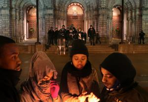 A night of protest: from Berkeley to the Basilica