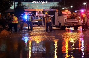 Water main repaired after break near Barnes-Jewish Hospital
