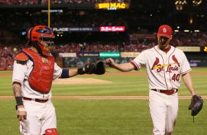 Bernie video: Cardinals right where they should be